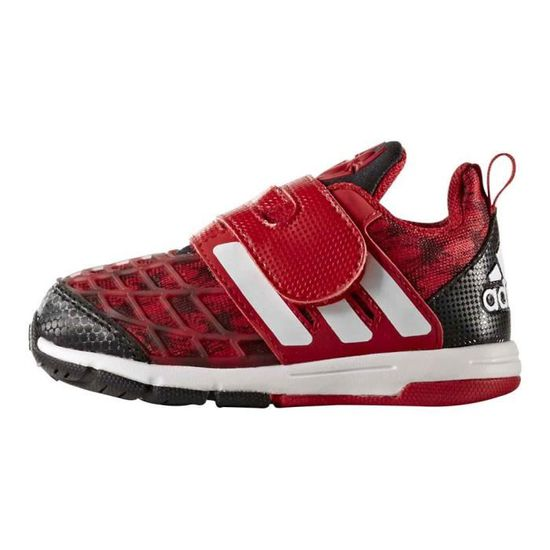 2900dae34ce Chaussures enfant Running Adidas Marvel Spider Man Cf I - Prix pas cher -  Cdiscount
