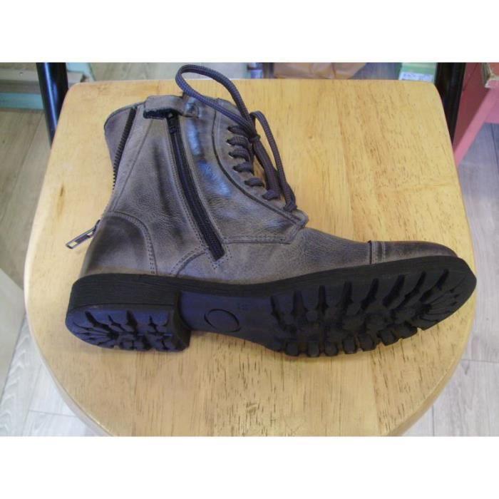 Chaussures enfants Bottines filles Ninette P33