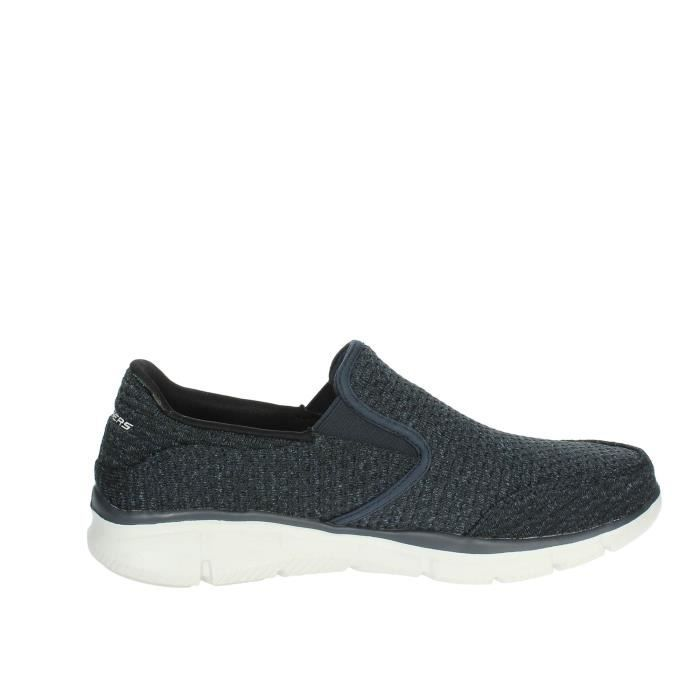 Chaussures Skechers Homme on 40 Slip Bleu EqYY81nwTS
