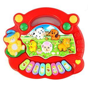 TAPIS ÉVEIL - AIRE BÉBÉ Napoulen®Nouveau Piano utile Bébé enfants Animal F