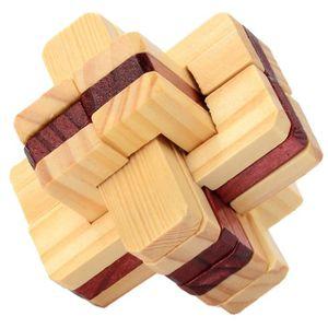 CASSE-TÊTE Intelligence Jouet en bois chinois Casse-tête Jeu