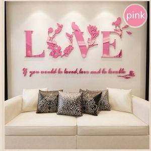 Decoration chambre adulte achat vente pas cher - Stickers muraux salon ...
