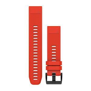 GPS PEDESTRE RANDONNEE  GARMIN Bracelets QuickFit - 22mm - Silicone rouge