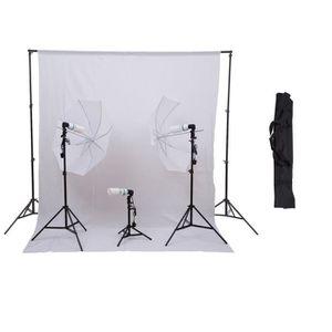 KIT STUDIO PHOTO Kit photographe pour studio professionnel 3 lampes