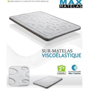 SUR-MATELAS Sur-matelas Viscoélastique 160x200