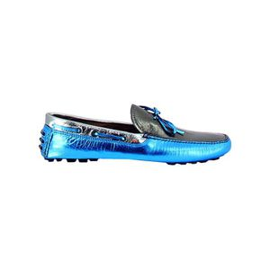MOCASSIN ITALIA INDEPENDENT HOMME 19I254MAZUREO BLEU CLAIRE