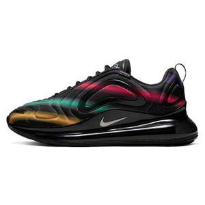 Cette Nike Air Max 98 dispose d'une peau de serpent en rose, rouge, jaune et vert Sneakers Magasin Pas Cher Homme   Femme
