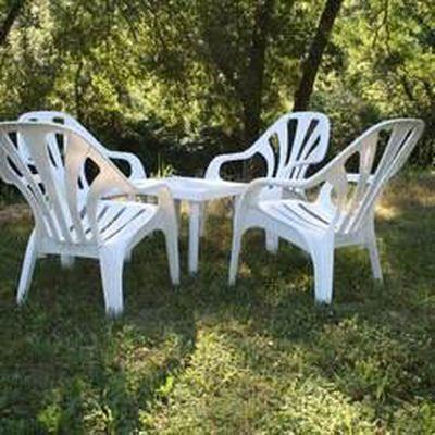 Salon de jardin detente Bolero : 5 fauteuils + … - Achat ...