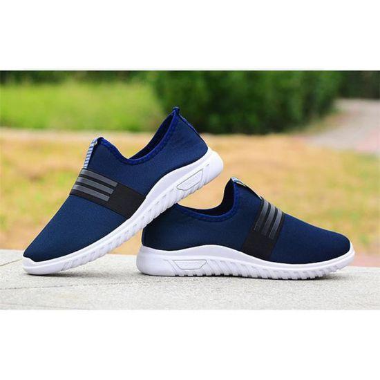 Mode été Confortable on Slip Poids Nouvelle Respirant Chaussures Chaussure Hommes Léger Durable Classique 5R34jLcAq