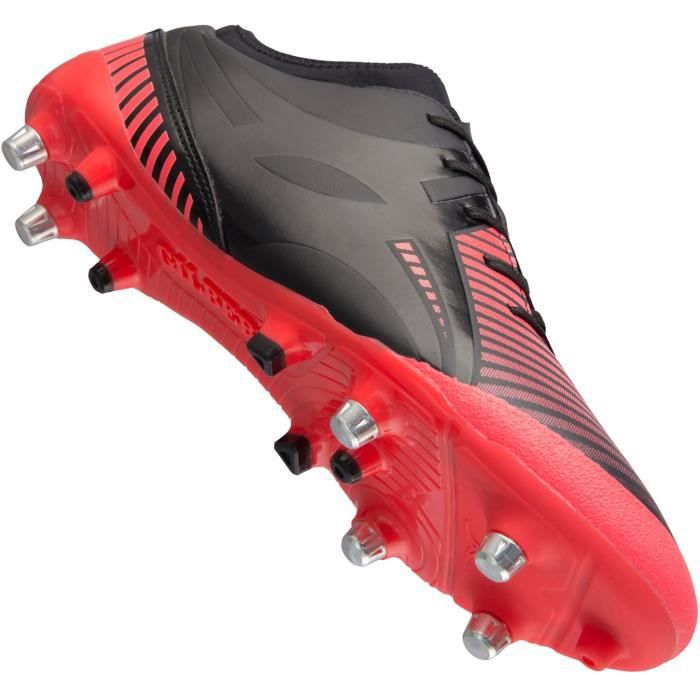 GILBERT Chaussures de Rugby IGNITE FLY - Crampons hybrides - Rouge ... 4be834d2af8