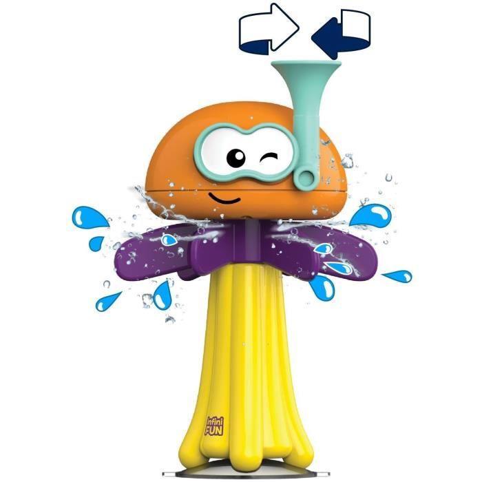 INFINIFUN Jouet de bain - La médus'o'Splash