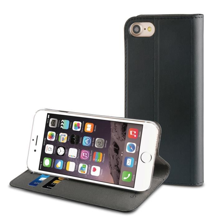 MUVIT Etui - Noir - Pour Apple Iphone 7