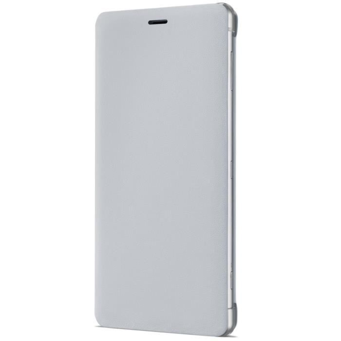 Sony Style Cover Stand pour XZ2 Silver