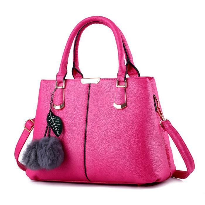 sac à main Sacs à main de mode Messenger Bag sac à bandoulièreSac sauvage Mme Sac à main cuir rouge Haut qualité