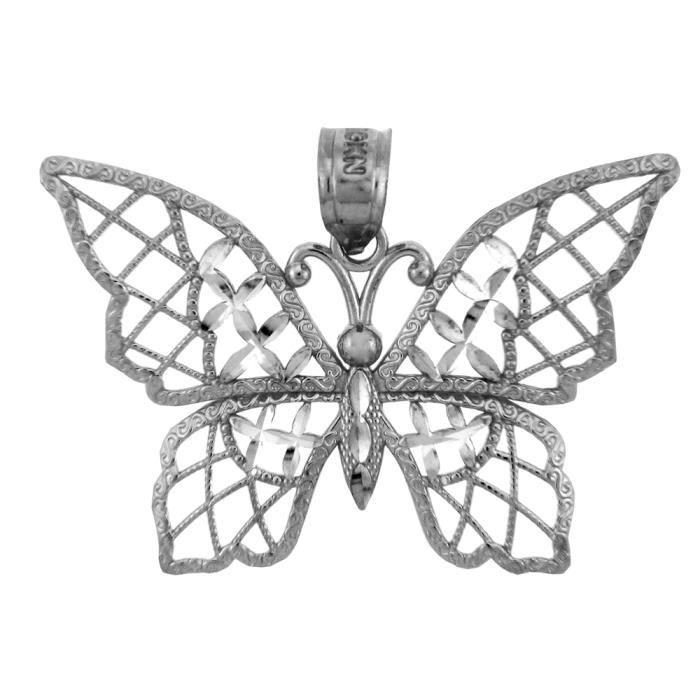 Collier PendentifArgent Papillon-Charm Collier Pendentif(vient avec une Chaîne de 45 cm)