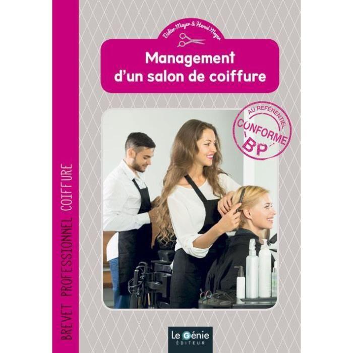 Livre - management d\'un salon de coiffure ; BP coiffure - Achat ...