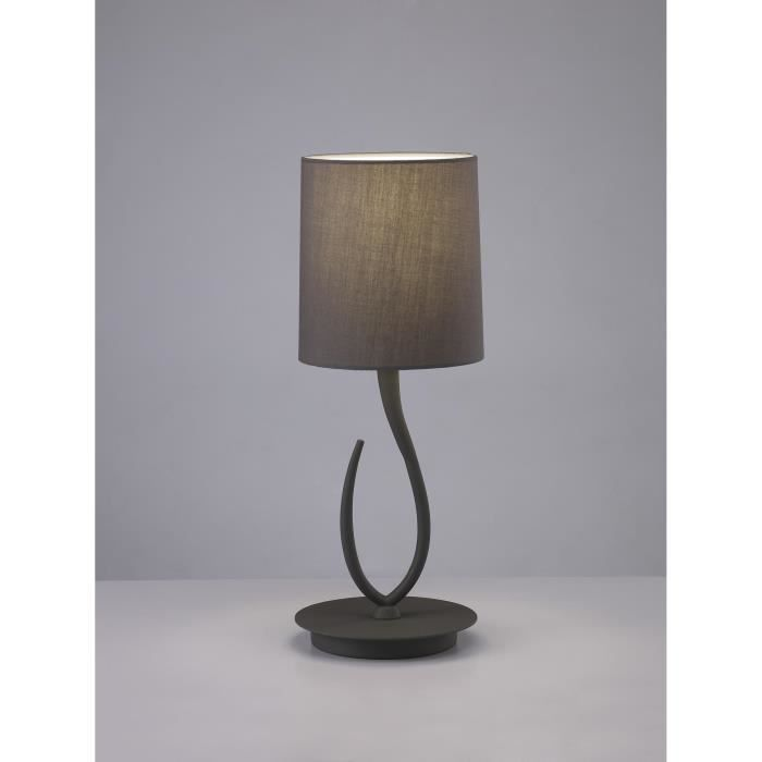 Lampe Lua Design Table De 1l Mantra Vente Taupe Achat kPXZTOiu