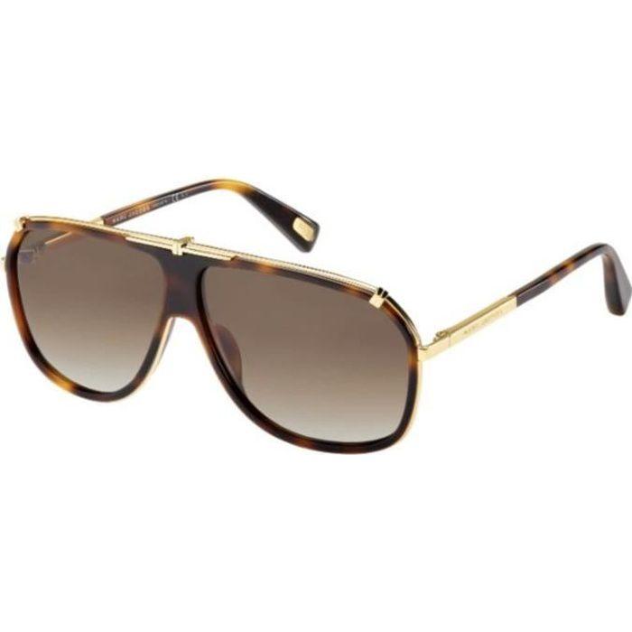 db4fb3ff70fca Lunettes de soleil Marc Jacobs MJ305 S Ecaille … Or