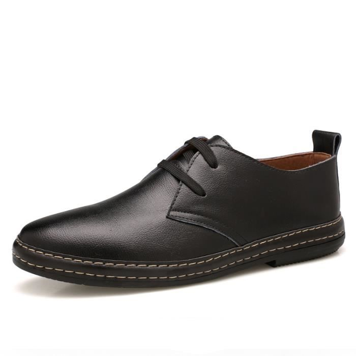 Chaussures Derby cuir Homme chaussures habillées omIrX5ZP86