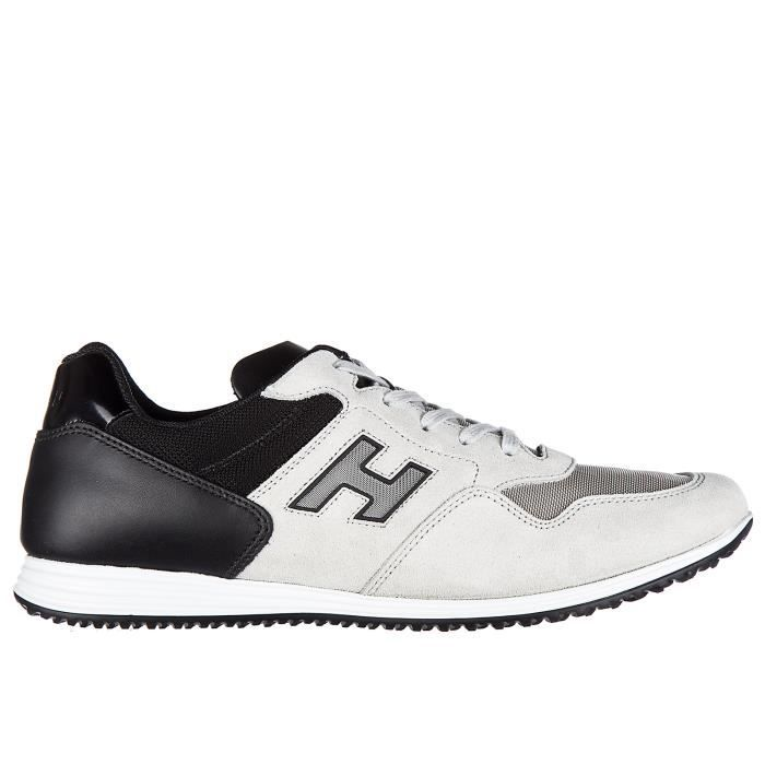 Chaussures baskets daim Hogan sneakers x en h205 olympia homme rrzCRwHnF