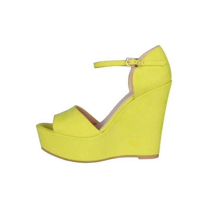 Made in Italia - Sandales pour femme (BENIAMINA_GIALLO) - Jaune SReOi8HqeU