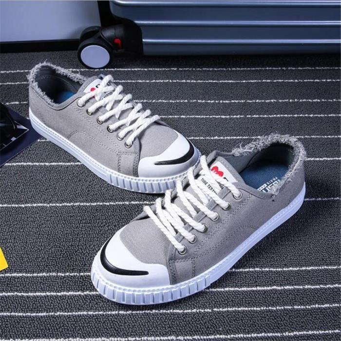 Taille De Antidérapant Marque Grande chaussures homme Luxe Respirant chaussure Nouvelle hommes arrivee Sneaker plein de air 1AFPwZq