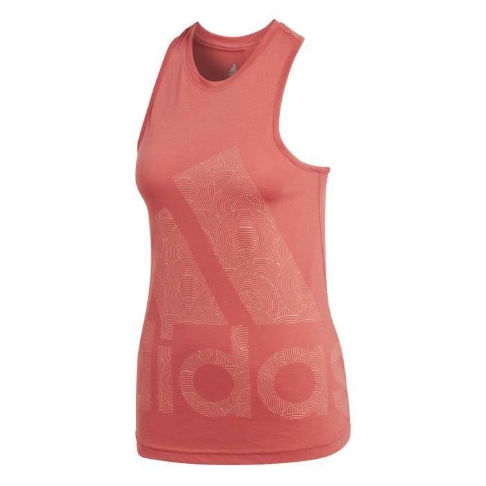 f601dd9ea5144 Débardeur Adidas Performance Débardeur Logo Cool Femme - Prix pas ...