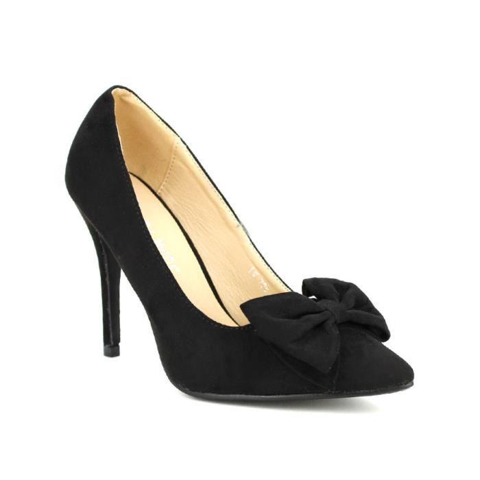 Escarpin Femme Escarpins Chaussures Cendriyon Noir rPOqxwtr