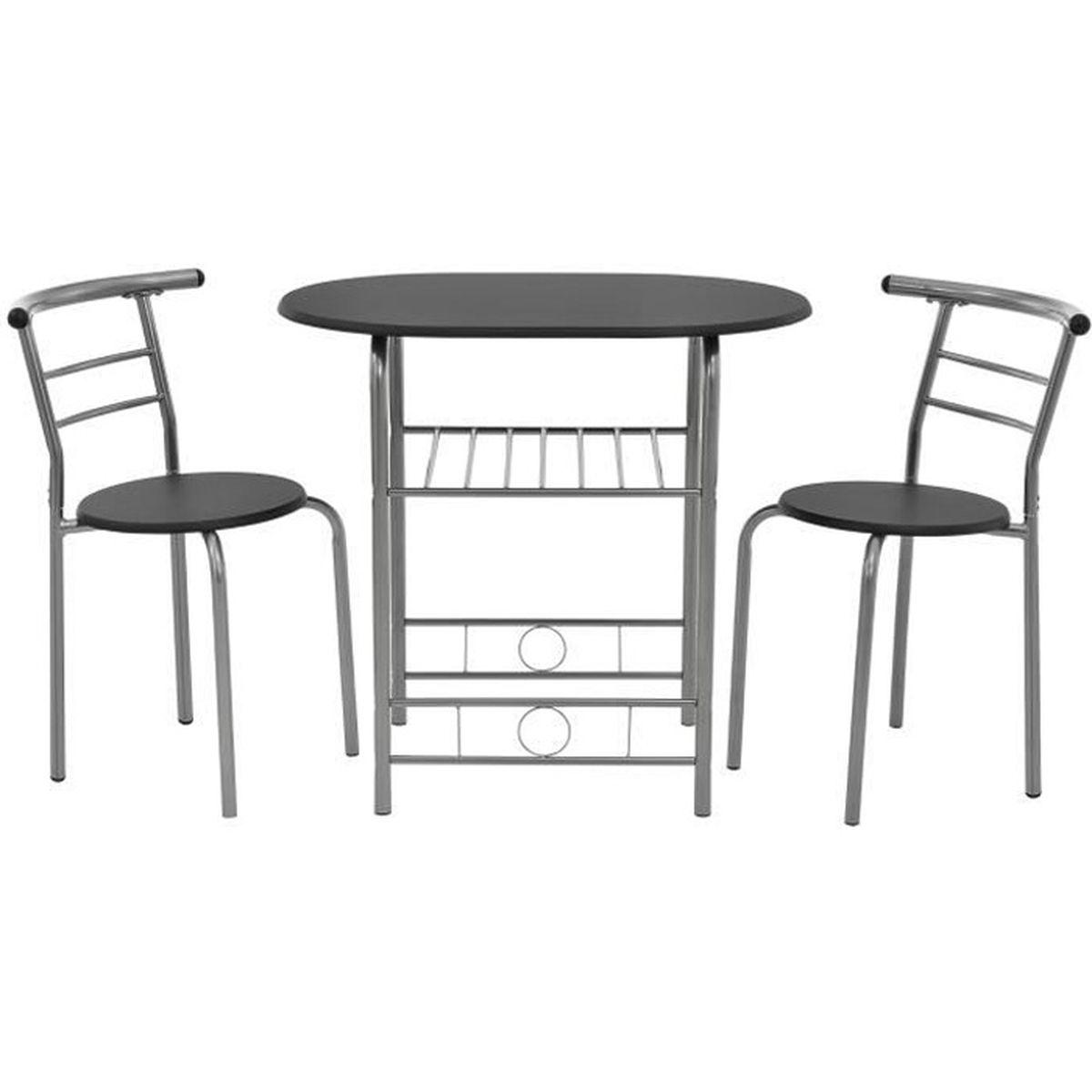 table avec chaise de cuisine pas cher