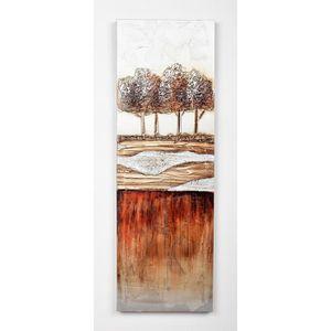 TABLEAU - TOILE Tableau déco Modern  5 -  Toile peinte à la main