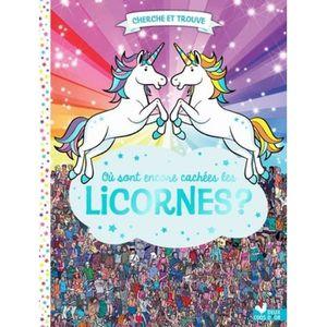 Livre 3-6 ANS Où sont de nouveau cachées les licornes ?