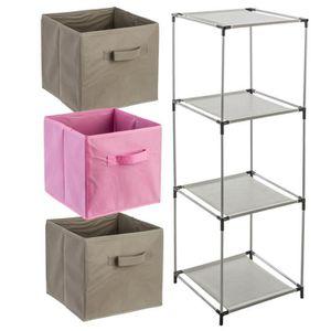 meuble etagere 3 casier achat vente meuble etagere 3 casier pas cher soldes d s le 10. Black Bedroom Furniture Sets. Home Design Ideas