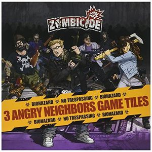 PARTITION Zombicide Angry Neighbors Tiles Pack