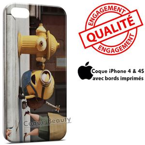 COQUE - BUMPER Coque iPhone 4 & 4S Minion 15