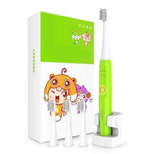 BROSSE A DENTS ÉLEC Brosse à dents électrique en couleur Vert   charge