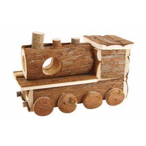 ACCESSOIRE ABRI ANIMAL BUBIMEX Maison en bois train - Pour rongeur