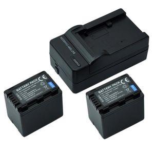 BATTERIE APPAREIL PHOTO MP power @ 2X 3900mAh Remplacement Batterie VW-VB3