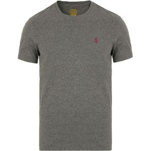 b18a7404e1b4a Ralph Lauren - T-shirt Ralph Lauren gris chiné Gris Gris - Achat ...