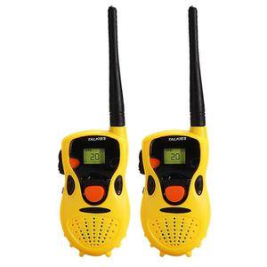 TALKIE-WALKIE JOUET Pack de deux talkie-walkie portables pour enfants