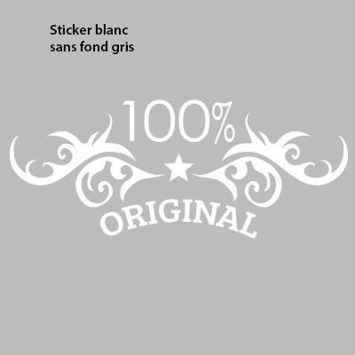 Stickers Cuisine Originaux 100% Pour Meubles   80 X 31 Cm Blanc