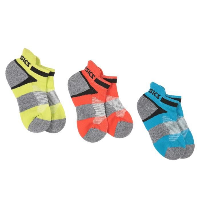 ASICS Pack de 3 Chaussettes Lyte Youth pour Enfant fille - Multicolore