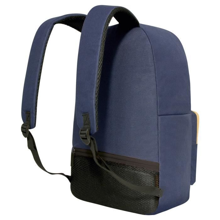 MOBILIS Sac à dos pour ordinateur portable - Advantage Backpack - 14-16'' - Bleu / Beige