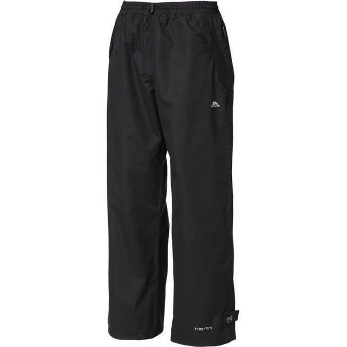 TRESPASS Pantalon de randonnée Toliland Trousers - Homme - Noir