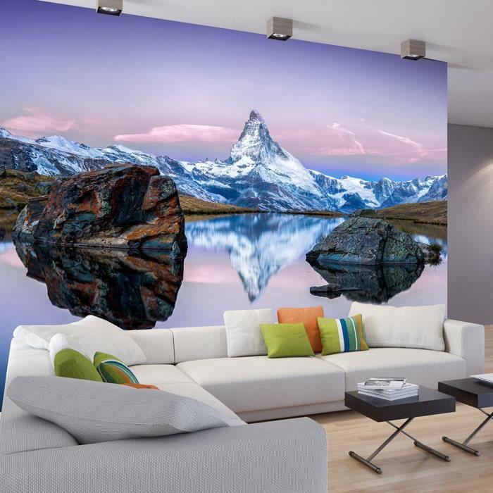 Papier Peint Paysage Artistique 350x245x2cm Achat Vente
