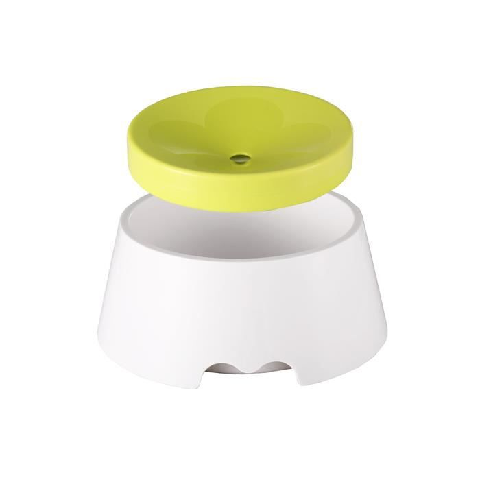 2 In 1 Innovative Pet Bowl Anti-spill No Spill Dripless Water Food Pour Chiens Et Chats, 1000ml