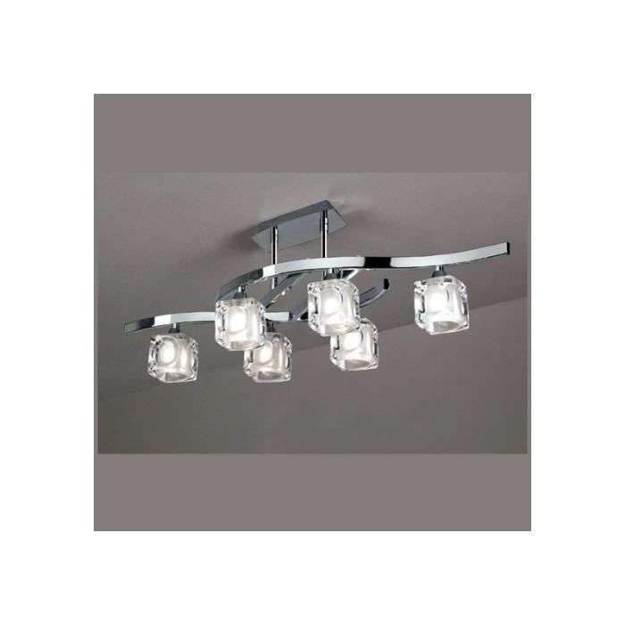 Luminaire 6 lampes