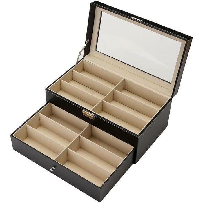 12 Case Lunettes De Soleil Stockage Présentoir Organisateur cc1d4f15ae20