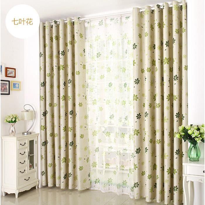 trendy rideau quatre feuilles imprimes rideaux modernes pour le with rideau moderne salon - Rideaux Moderne Pour Salon