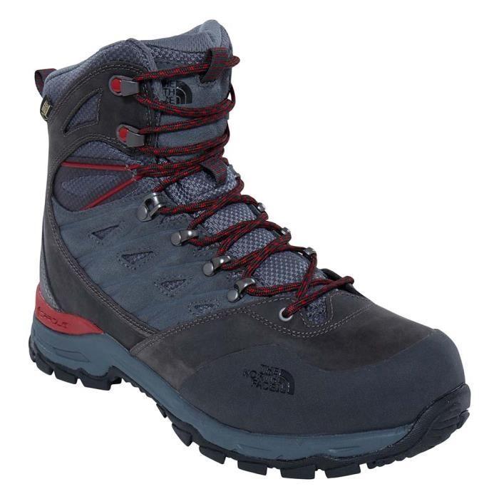 335211008e4 Chaussures homme Montagne The North Face Hedgehog Trek Goretex Gris ...