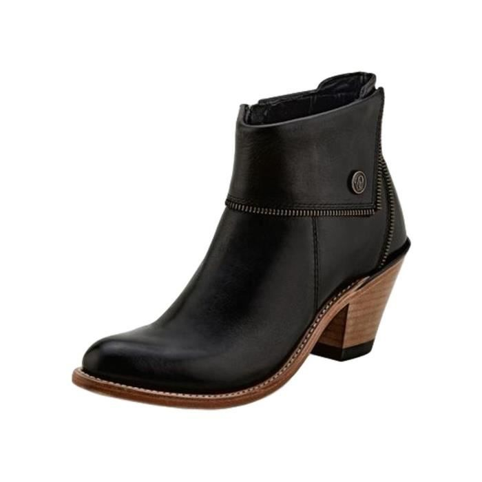 DERBY Women's Womens Zippered Ankle Boot IPFHC Taille-41